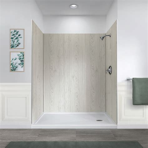jetcoat 60 x 32 five panel shower wall system
