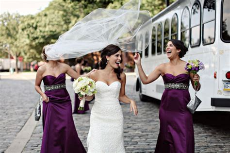 Eggplant, Plum And Purple Wedding Color Palette