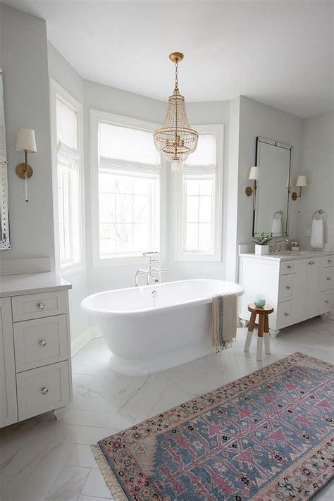 freestanding bath  vanities master bathroom layout
