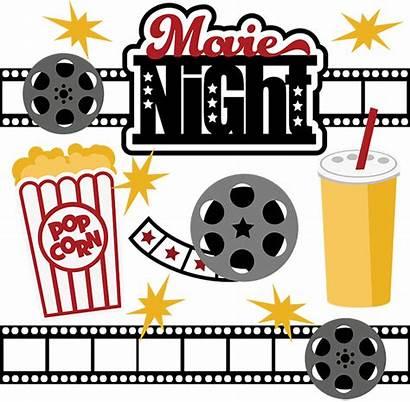 Popcorn Clip Night Clipart Rental Downloads 1024