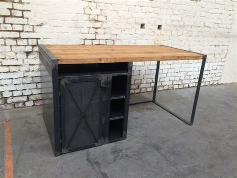 bureau metal bureau rb 39 bu002 giani desmet meubles indus bois métal