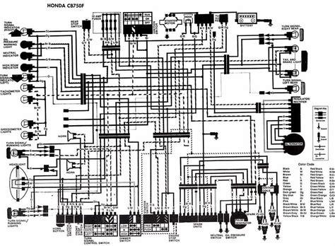 Electrical Wiring Diagram Honda Cbf