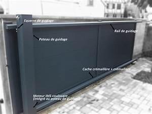 Portail 3 Metres : portail coulissant 3 metres tarif portail sfrcegetel ~ Premium-room.com Idées de Décoration