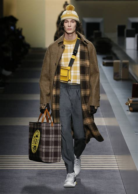 FENDI FALL WINTER 2018 MEN'S COLLECTION | The Skinny Beep