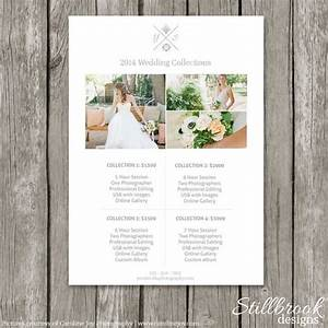 price list photography pricing and templates on pinterest With wedding photography collections