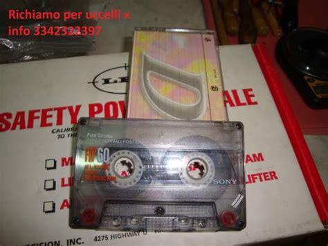 cassette per uccelli cd richiami uccelli tordo quaglia beccaccia posot class