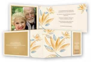 einladungen diamantene hochzeit goldene hochzeit einladungen vorlage feinekarten