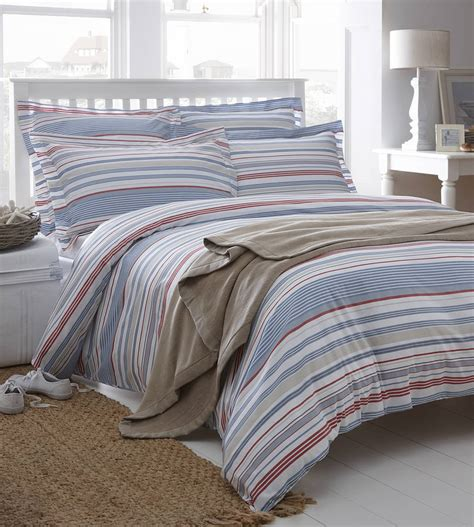 Hudson Stripe Organic Cotton Bedding By The Fine Cotton