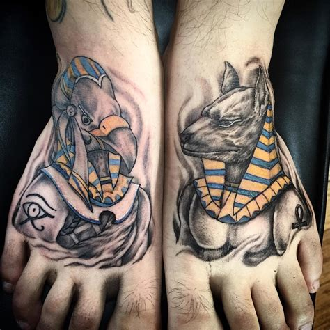 meaningful egyptian tattoos  men  women