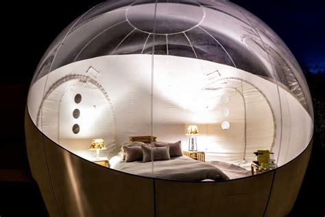 chambre d hote bulle logement insolite la bulle d aunis le clos de landrais