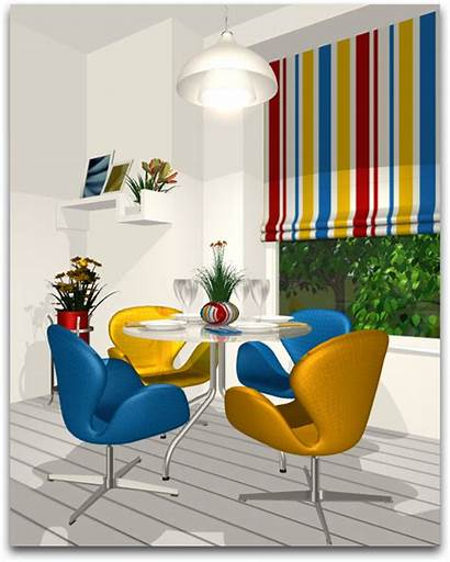 Triadic Schemes Yellow Scheme Complementary Interior Colors