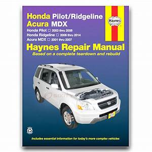 Haynes Repair Manual For 2006-2014 Honda Ridgeline