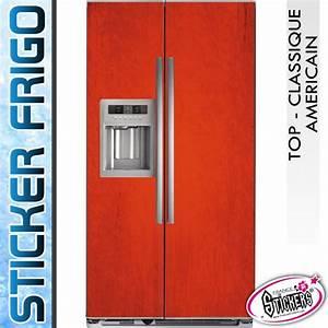 Frigo Rouge Pas Cher : meilleur frigo americain classique pas cher ~ Dailycaller-alerts.com Idées de Décoration