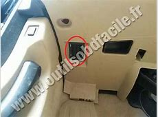 OBD2 connector location in BMW Serie 5 F10F11 2010