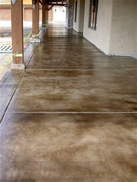 Best 25  Acid stained concrete ideas on Pinterest   Acid