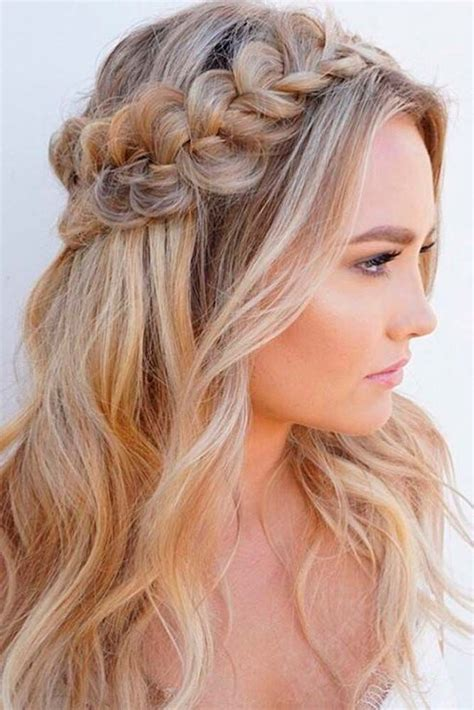 easy open hairstyles 86 half up half down bridesmaid hairstyles stylish ideas