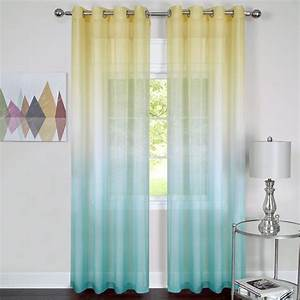 Compromise Patterned Sheer Curtains Window Treatments