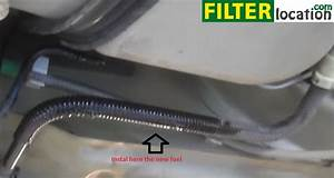 2000 Ford Focus Fuel Filter Location