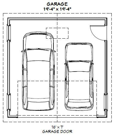 2 car garage dimensions 20x20 2 car garage 20x20g4a 400 sq ft excellent
