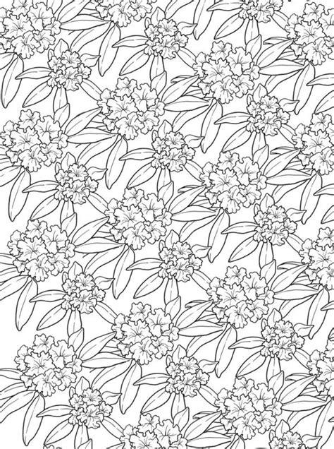 Kleurplaat Voor Volwassenen by N Kleurplaat Bloemen Voor Volwassenen Bloemen