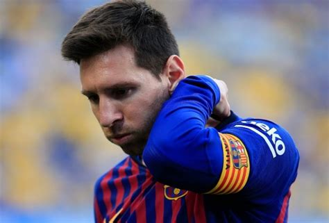 'Lionel Messi Has A Bad Taste In His Mouth'