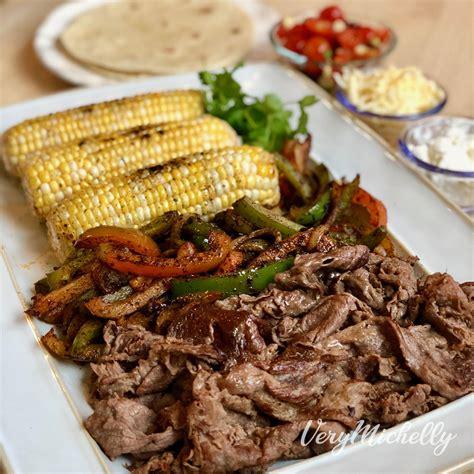 WW Recipes - Shaved Steak Fajitas – Very Michelly