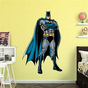 life size batman justice league wall decal shop fathead With nice fathead batman wall decal