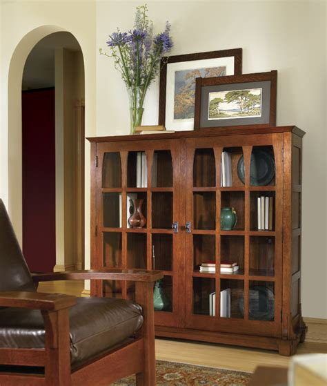 Craftsman Bookcases by Coastal Style White Bookcases And Armoires Decoration News