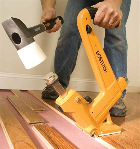 How To Install Hardwood Floors   Nail Gun Network