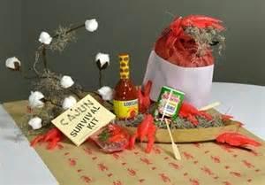 cajun table centerpiece crawfish boil pinterest