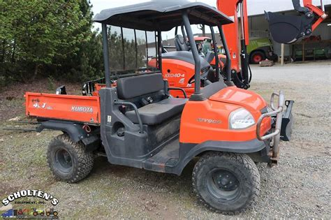 kubota rtv 900 kubota rtv900 utility vehicle for sale 2 925 hours