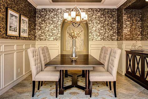 ornate dining room wallpaper decoist