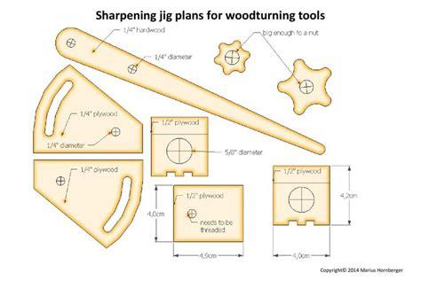 fingernail grind oneway wolverine style lathe gouge sharpening jig plans shop pinterest