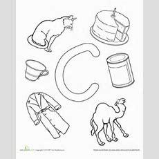 C Is For  Worksheet Educationcom