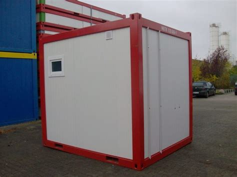 12 Fuß Container by 10 Fu 223 Sanit 228 Rcontainer Neu Dusche Wc