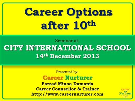 Career Counselling Seminar By
