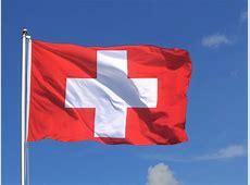Große Schweiz Flagge FlaggenPlatzch