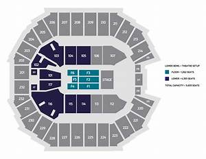 Ticketmaster Seating Chart Seating Charts Spectrum Center Charlotte