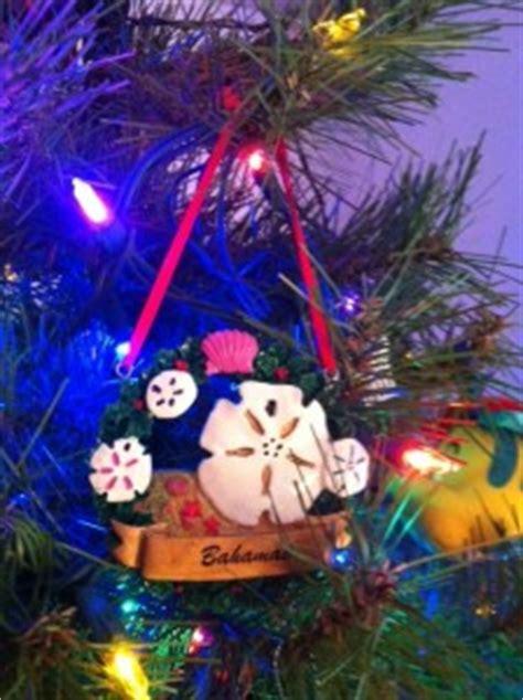 bahamas christmas decorations tree ornaments