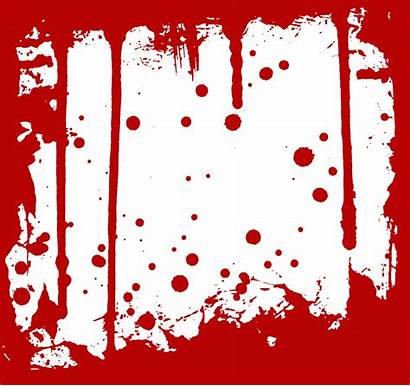 Blood Transparent Frame Clipart Border Splatter Frames