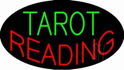 Tarot Sign Reading Neon Signs Flashing