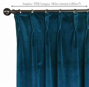 Rideau Voilage Bleu Canard : rideau velours doubla bleu canard vol collection et velours bleu canard images ~ Teatrodelosmanantiales.com Idées de Décoration