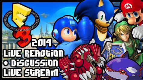 E3: Nintendo Press Conference 2014 (Live Reactions ...