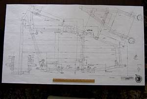Details About Indian Frame Blueprint Drawing Poster Print Of Antique Motorcycle Part Chief Vtg