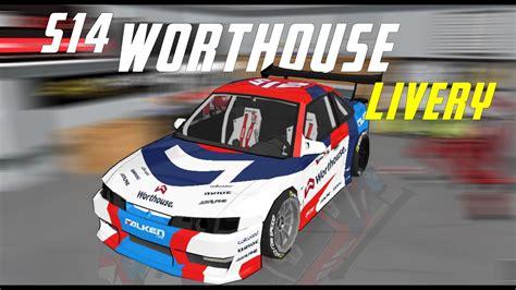 FR Legends S14 WorthouseDrift Team Livery - S14 Kouki Team ...