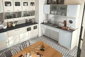 Küche Vintage Style : kann die moderne k che im retro stil gestaltet sein ~ A.2002-acura-tl-radio.info Haus und Dekorationen