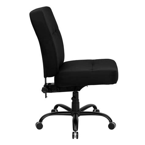 hercules 500 lb capacity big black fabric office chair from renegade wl 735syg bk gg