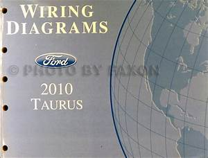 2010 Ford Taurus Wiring Diagram Manual Original