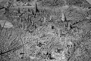Jaw-Dropping Pen and Ink Cityscapes That Seem to Sprawl ...