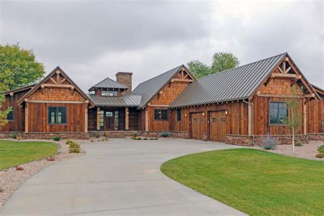Rustic Mountain Ranch House Plan
